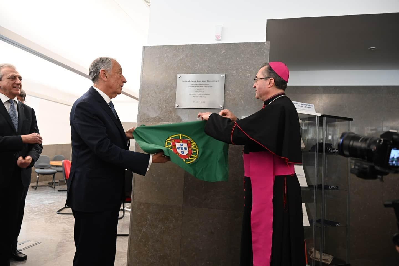 Inauguração do novo edifício da Escola Superior de Biotecnologia da Universidade Católica Portuguesa