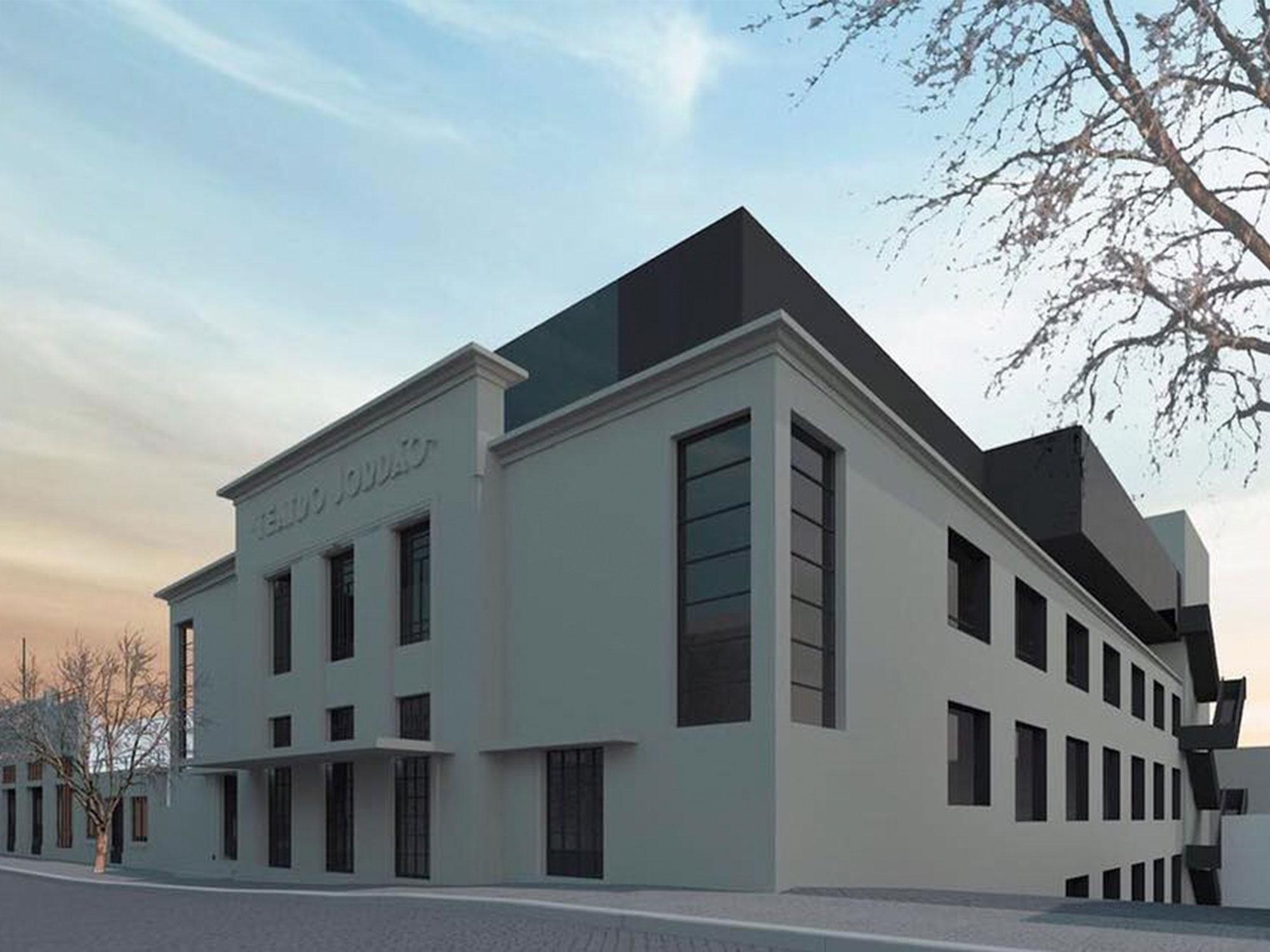 A nova imagem do Teatro Jordão em Guimarães